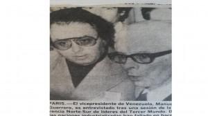 Luis Ariel Ramos y el Vice Presidente de Venezuela,Manuel Guerrero.