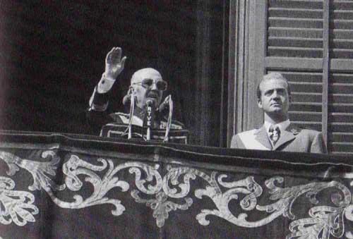 """""""Franco y el Rey Juan Carlos de Borbón."""" . Baragua, 13 Jan. 2013. Web. Baragua.wordpress.com."""