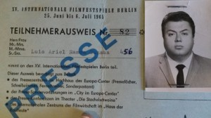 Special Press Visa for Germany.