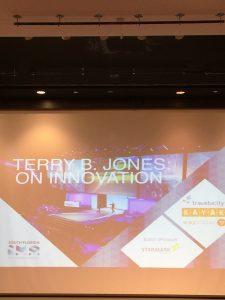 IMA event: Terry B. Jones on innovation